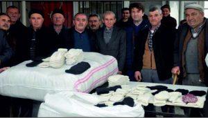 Çorapçı Karaağaç'tan Mehmetçiğe destek