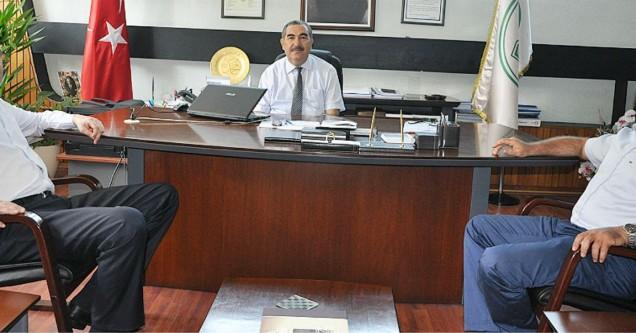 Başkan Özkan, Bursa temaslarını sürdürüyor