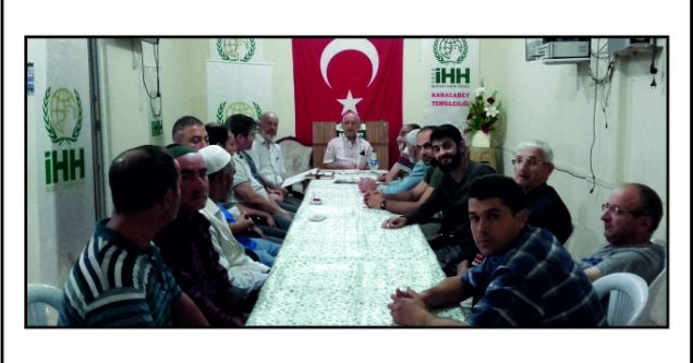 İHH, Hicri Yılbaşı'nda  gönüllüleri  ile  buluştu