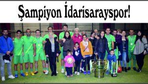 Şampiyon İdarisarayspor!