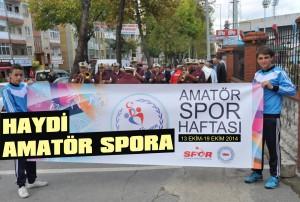 Amatör Spor Haftası başlıyor!