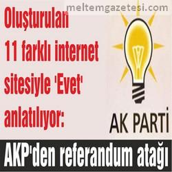 AKP'den referandum atağı