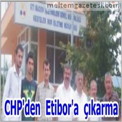 CHP'den Etibor'a çıkarma