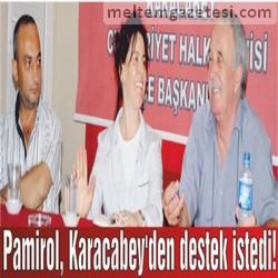 Pamirol, Karacabey'den destek istedi!