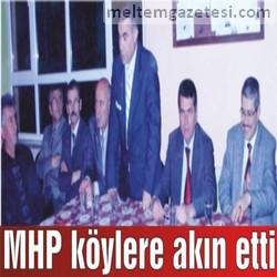 MHP köylere akın etti
