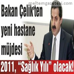 """2011, """"Sağlık Yılı"""" olacak!"""