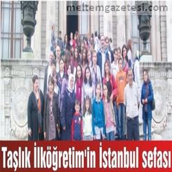 Taşlık İlköğretim'in İstanbul sefası