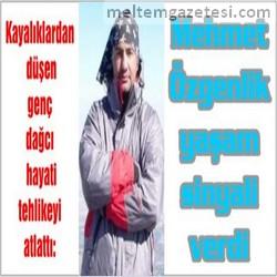 Mehmet Özgenlik yaşam sinyali verdi
