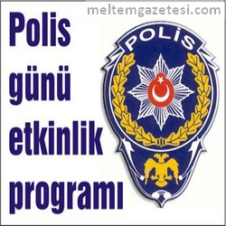 Polis günü etkinlik programı