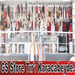 GS Store Tır'ı Karacabeyde!