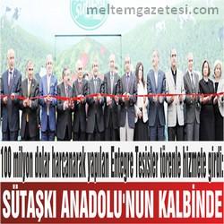 SÜTAŞKI ANADOLU'NUN KALBİNDE
