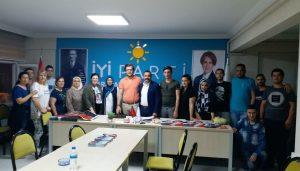 İYİ Parti Gençliği Kahraman'a emanet