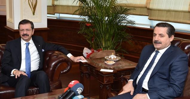 Bakan Çelik ve TOBB Başkanı  Hisarcıklıoğlu ödül törenine geliyor!