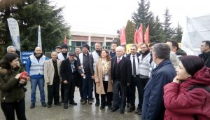 Perinçek Bursa'ya çıkarma yaptı!