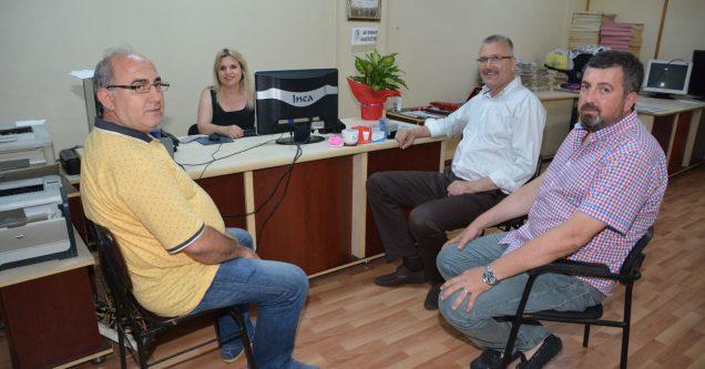 Başkan Özkan'dan Meltem'e kutlama ziyareti
