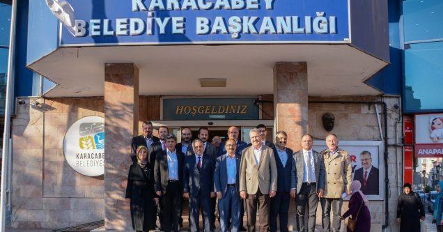 AK Parti İl Teşkilatı'ndan Özkan'a ziyaret