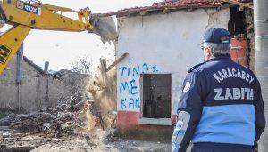 Metruk binaların yıkımı için düğmeye basıldı