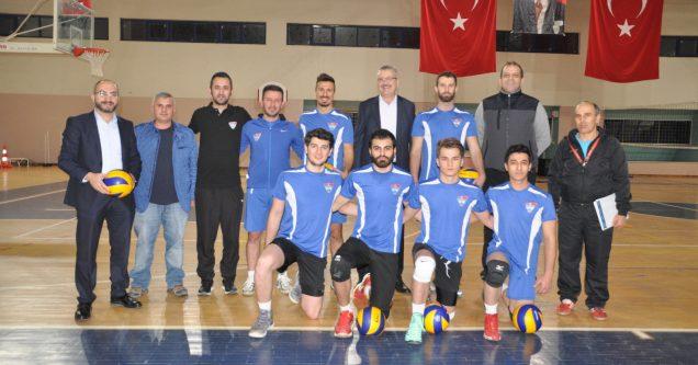 Erkek Voleybol Takımı 2. Lig'e yükseldi