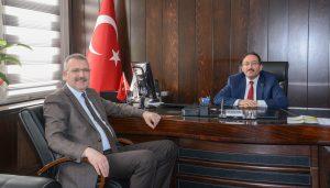 Ali Özkan'dan Bursa Tarım İl Müdürü Yıldız'a ziyaret