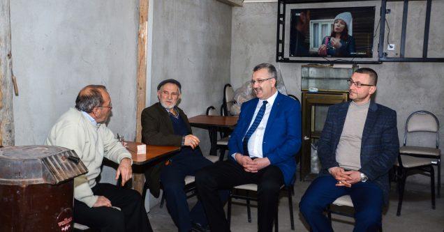 'Mobil Başkan' Ali Özkan hız kesmiyor