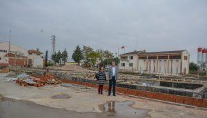 Belediye Kademe tesisleri için kolları sıvadı