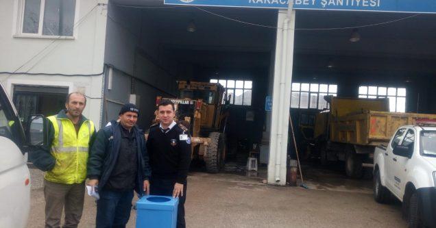 Belediye'den 'Sıfır Atık Projesi'ne destek