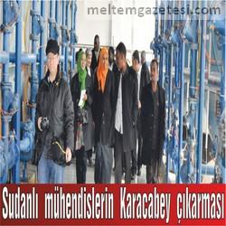 Sudanlı mühendislerin Karacabey çıkarması