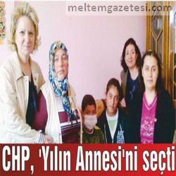 CHP, 'Yılın Annesi'ni seçti