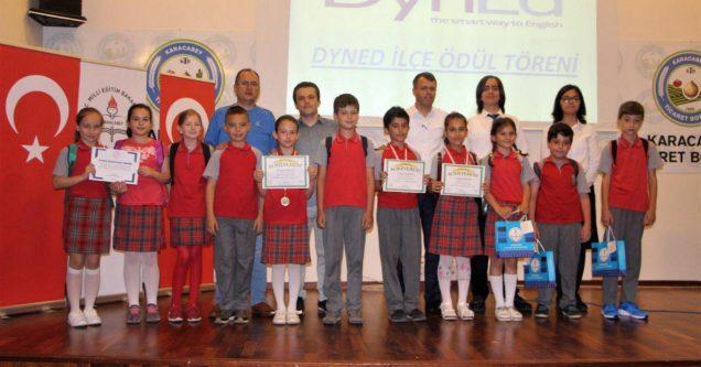 DynEd'de başarılı öğrenci ve öğretmenler ödüllendirildi