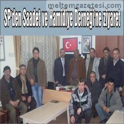 SP'den Saadet ve Hamidiye Derneği'ne ziyaret