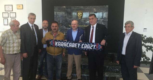 MHP'den, Karacabey Belediyespor'a kutlama