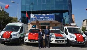 Karacabey  Belediyesi'nin  araç  filosu  güçleniyor