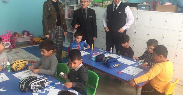 Şht. Yzb. Atilla Savaş  Acarca Ortaokulu'na ziyaret