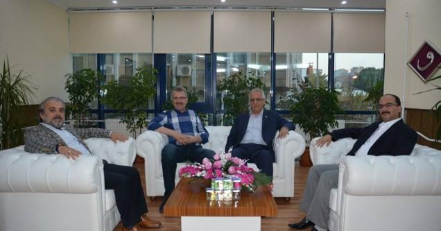 Milletvekilleri Aydın ve Mesten'den Ali Özkan'a ziyaret