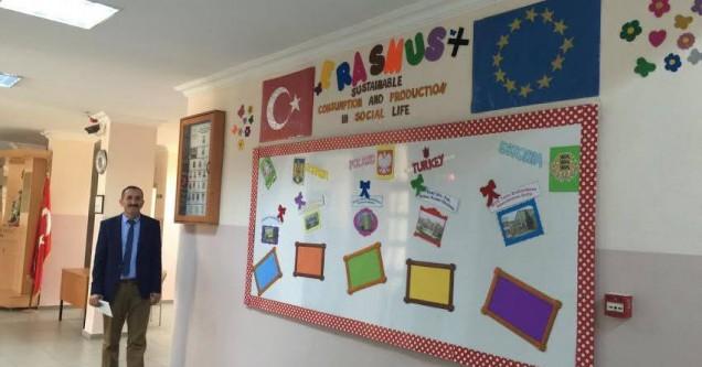 Erhan Kındır İlkokulu Avrupa'ya açılıyor