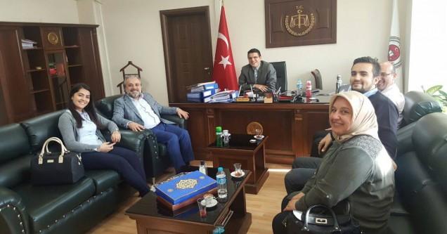 AK Parti'den 'Hayırlı olsun' ziyaretleri