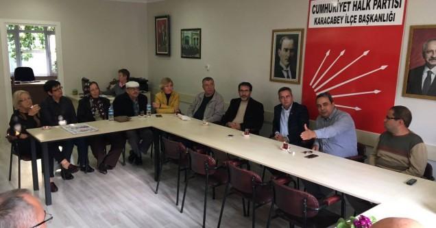 CHP Osmangazi Örgütü'nden Karacabey'e çıkartma