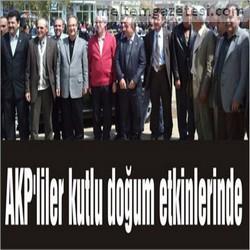 AKP'liler kutlu doğum etkinlerinde