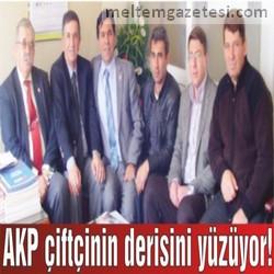 AKP çiftçinin derisini yüzüyor!