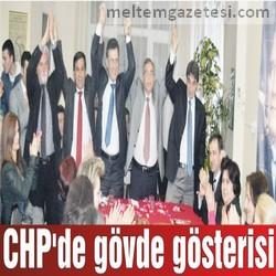 CHP'de gövde gösterisi