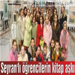 Seyran'lı öğrencilerin kitap aşkı