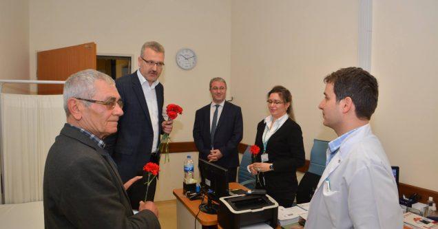 Başkan Özkan, 14 Mart Tıp Bayramı'nı kutladı