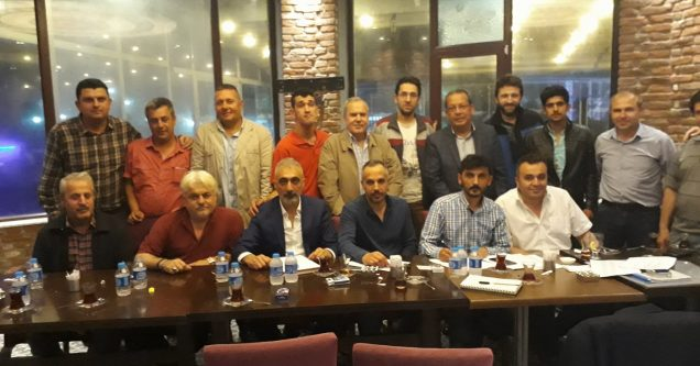 Galatasaraylılar  Derneği'nde  Kılıç devri