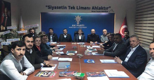 AK Parti'de Yürütme Kurulu açıklandı