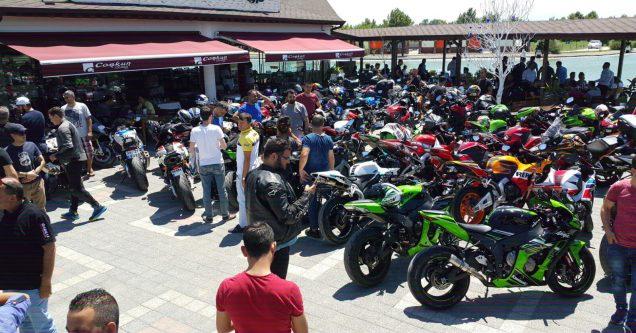 Yüzlerce motosiklet tutkunu Karacabey'de buluştu