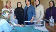 AK Kadınlar hastanedeki anneleri unutmadı