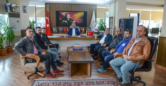 Bal-Göç Derneği'nden Başkan Özkan'a ziyaret