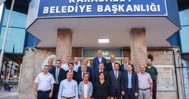 AK Parti İl'den Belediye'ye ziyaret