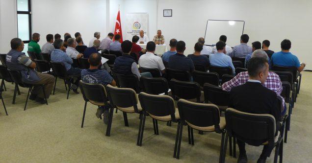 Elektrikçilere bilgilendirme semineri