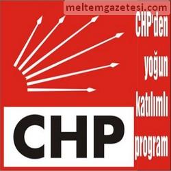 CHP'den yoğun katılımlı program